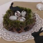 DIY Ostereier mit Zeitungspapier und Federn Deko-Kitchen