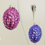 DIY coole Ostereier im Disco-Look Deko-Kitchen