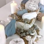 DIY: Edle Herbst-Deko in Weiß- und Pastell