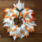DIY Herbstkranz aus Papier Deko-Kitchen
