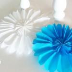 DIY Papierrosetten für Partydekos Deko-Kitchen