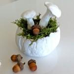 DIY Herbstdeko mit Pilzen und Blättern aus Fimo Deko-Kitchen