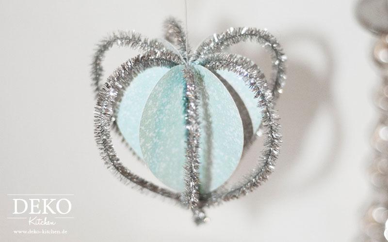 DIY Vorlage Herzanhänger Weihnachtsdeko aus Papier Deko-Kitchen