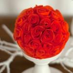 DIY: Süße Rosen aus Servietten oder Papier für tolle Dekos