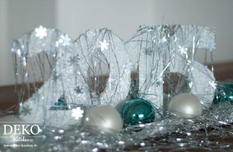 DIY: Tolle Silvester-Deko und geeiste Windlichter
