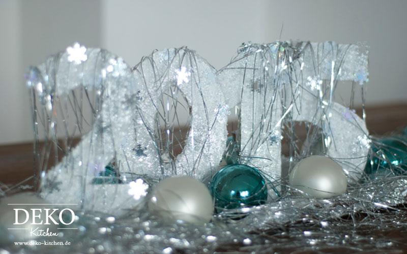 DIY: Tolle Silvester-Deko und geeiste Windlichter – Deko-Kitchen