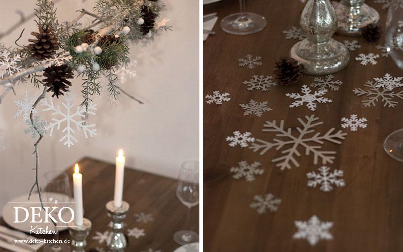 DIY Weihnachtlicher Deko-Zweig Deko-Kitchen