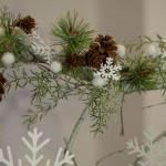 DIY: Großer weihnachtlicher Deko-Zweig