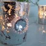 DIY: Windlichter im Bauernsilber-Look