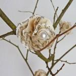 DIY: Rosenblüten aus Buchseiten