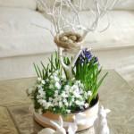 DIY Centerpiece Osterdeko für den Tisch Deko-Kitchen