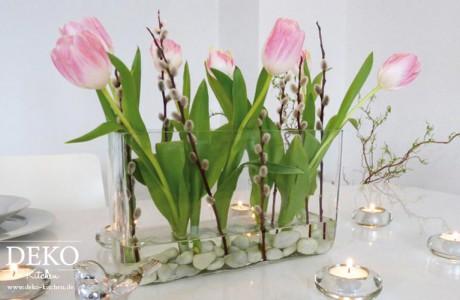 DIY Frühlings-Blumendeko für den Tisch Deko-Kitchen