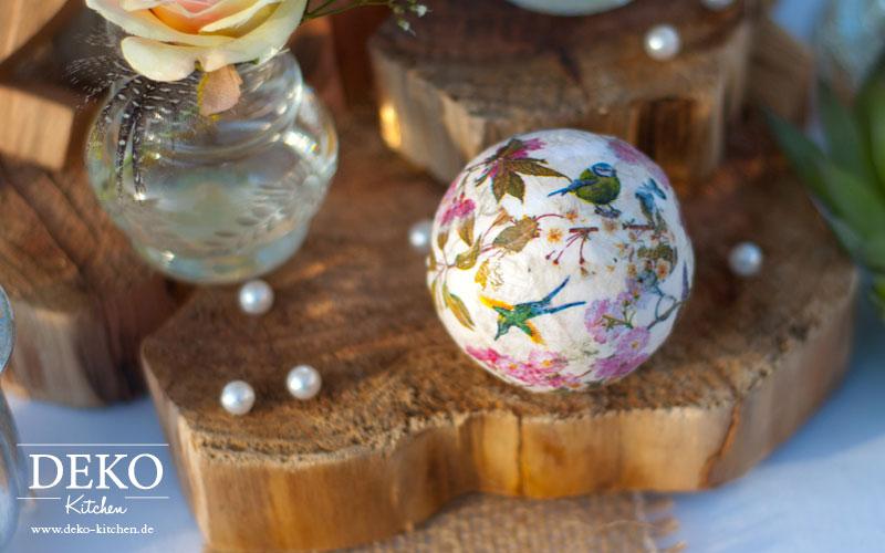 DIY Hochzeitsdeko romantisch-rustikal selber machen Deko-Kitchen
