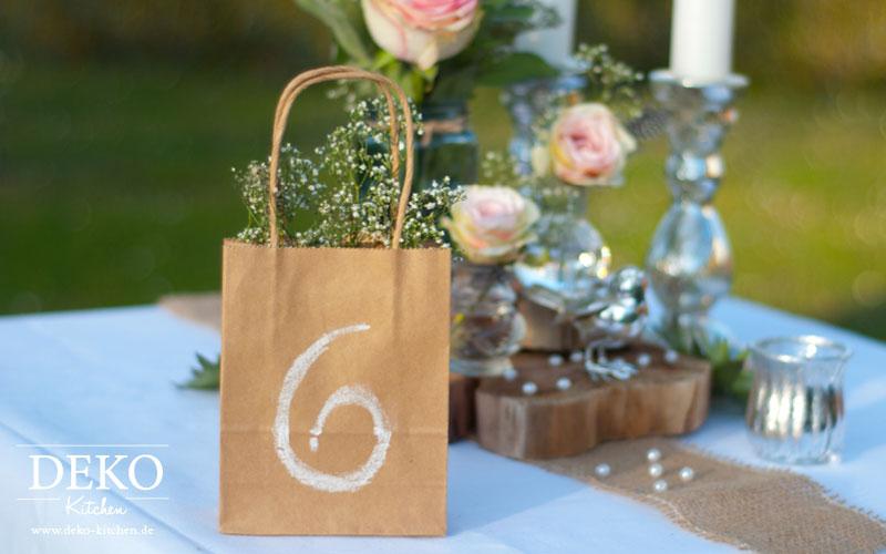 DIY Hochzeitsdeko Romantisch Rustikal Selber Machen Deko Kitchen