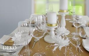 ... in weiß und gold selber machen von Deko-Kitchen – Deko-Kitchen
