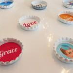 DIY: Individuelle Magneten aus Kronkorken