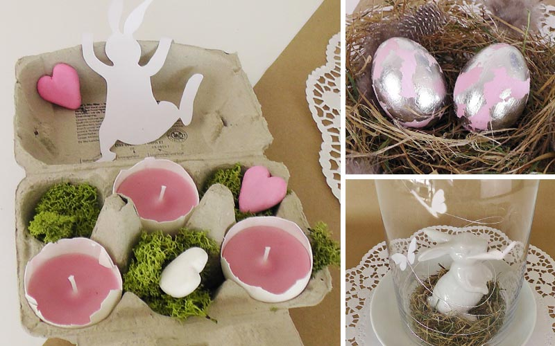 DIY romantische Osterdeko in Pastell Deko-Kitchen