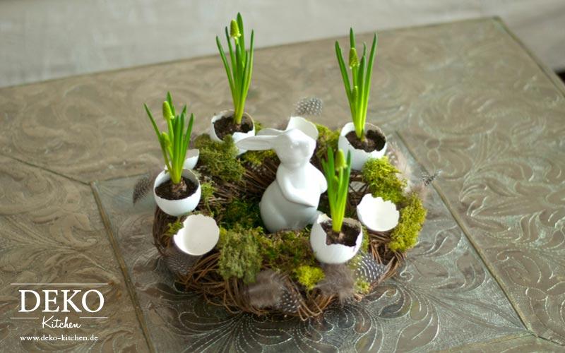 DIY Osterkranz mit Eiern Deko-Kitchen