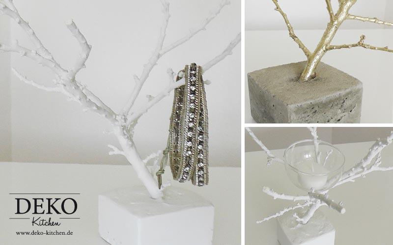 DIY Schmuckbaum aus Zweigen und Beton Deko-Kitchen