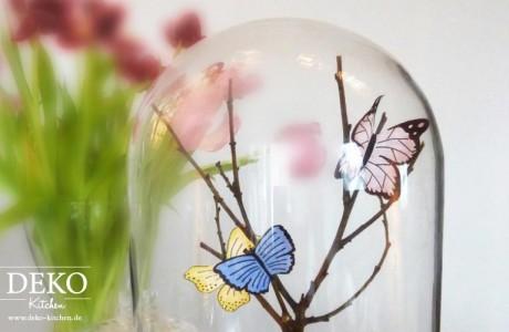DIY Tischdeko mit Schmetterlingen Deko Kitchen