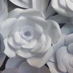 Vorlage Papierblütenwand DekoKitchen