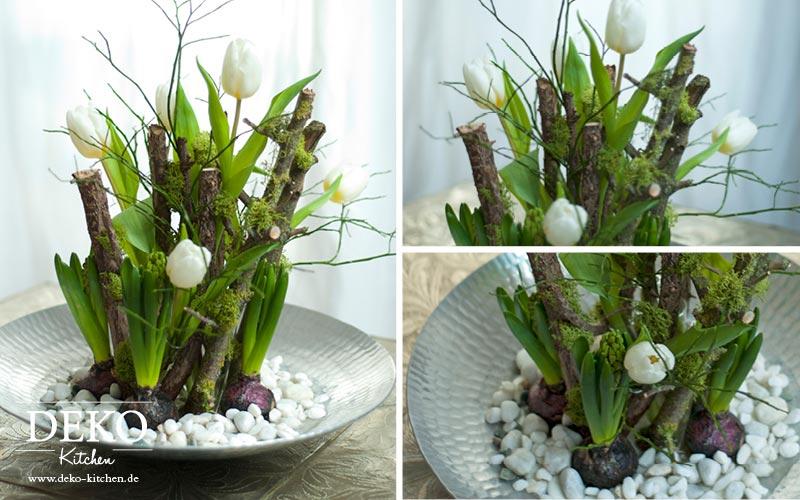 Holz Deko Frühjahr : DIY ausgefallene Blumendeko für den Tisch Deko ...