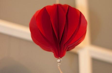 DIY Anhänger oder Weihnachtskugel aus Papier Deko-Kitchen