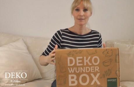 Ausgepackt: Depot Deko-Wunder-Box Deko-Kitchen