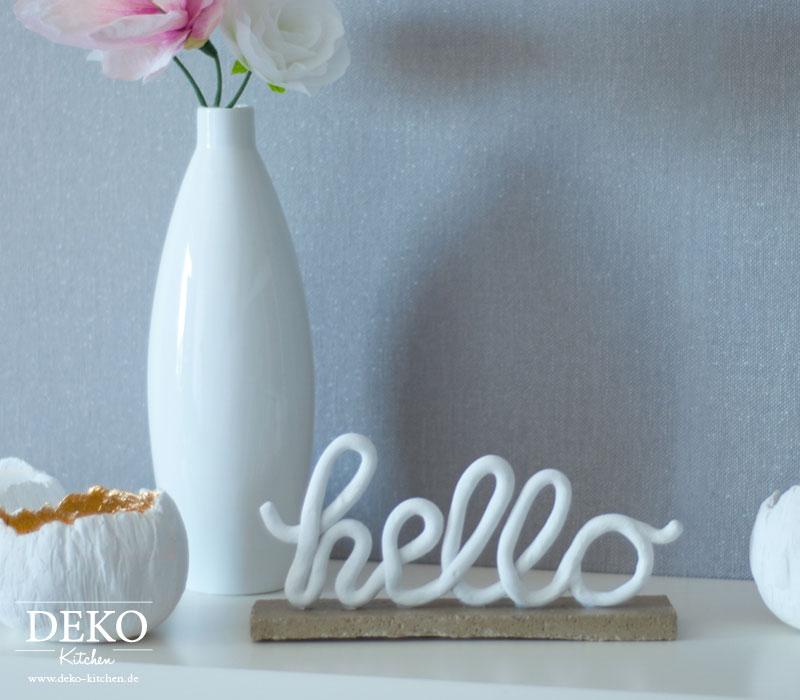 Diy deko schriftzuge aus fimo deko kitchen for Zimmer deko weihnachten