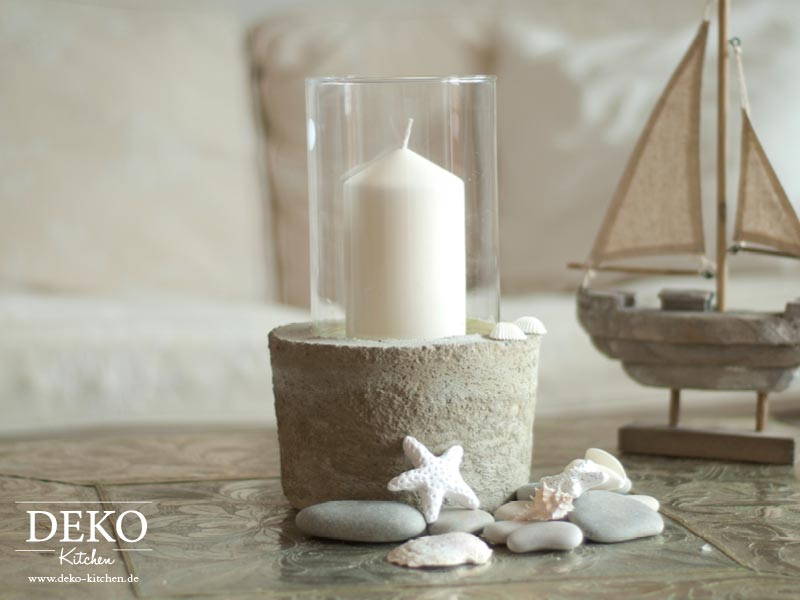 Diy Coole Deko Vase Mit Betonsockel Deko Kitchen