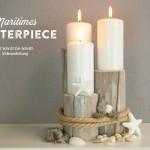 DIY: Centerpiece für maritime Tischdekos