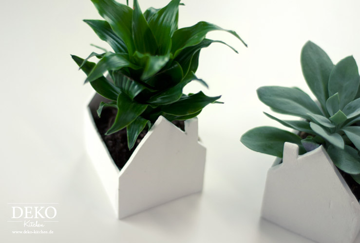 DIY: Süße Deko-Häuschen für Pflanzen Deko-Kitchen