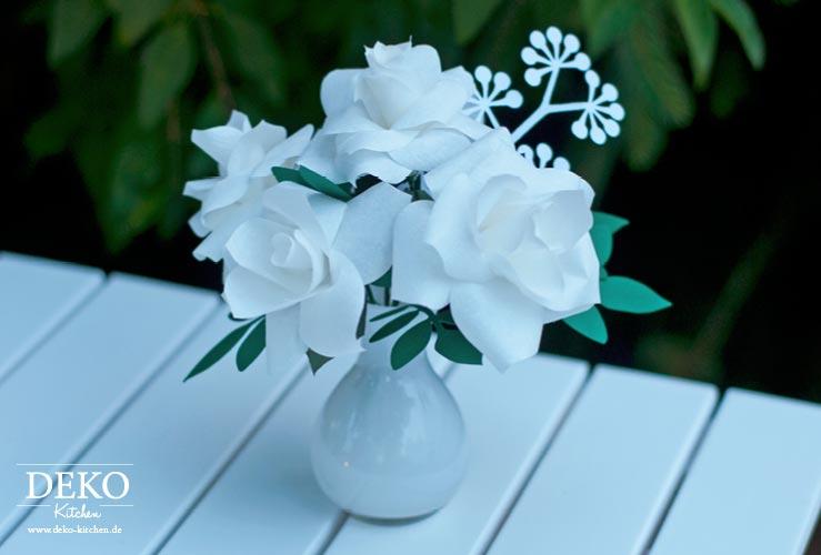 DIY: Rosen aus Kaffeefiltern Deko-Kitchen