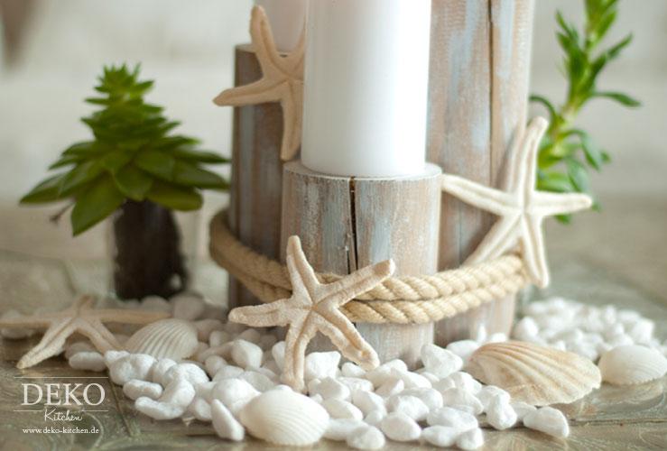 Tischdeko winter selber machen  DIY: Sommer-Deko mit Seesternen aus Salzteig – Deko-Kitchen