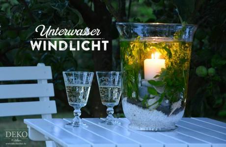 DIY: cooles Unterwasser-Windlicht als Tischdeko Deko-Kitchen