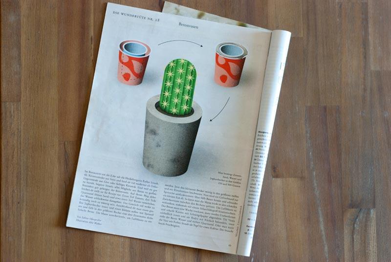 Deko-Kitchen im Zeitmagazin