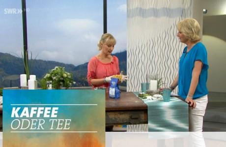 """Mein erster Auftritt in der Sendung """"Kaffee oder Tee"""""""