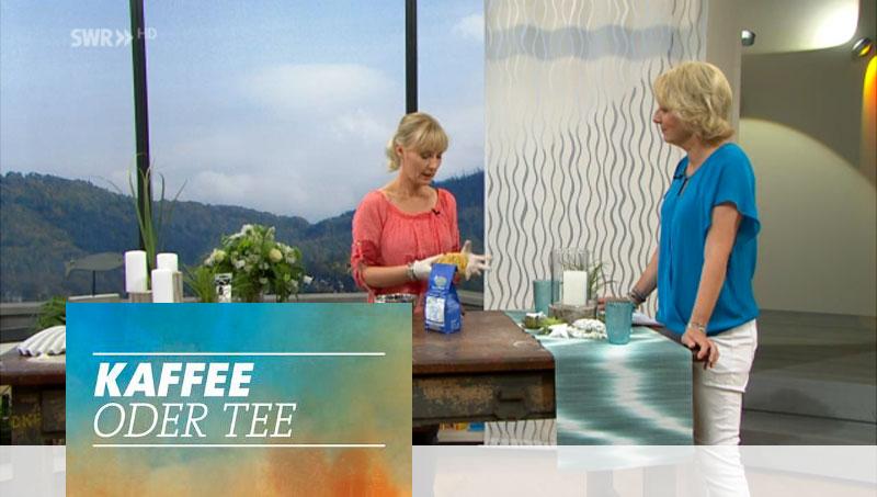 SWR Fernsehen: Kaffee oder Tee | Esther Straub