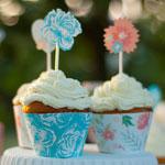 Freebie: hübsche Cupcake-Banderolen & Topper