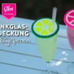 DIY: Trinkglasabdeckung aus Bügelperlen Deko-Kitchen