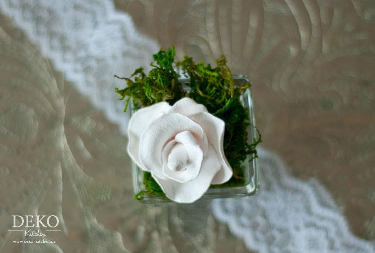DIY: Deko-Rosen aus Fimo Deko-Kitchen