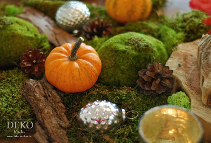 Dekoidee: Tischdeko in Herbsttönen