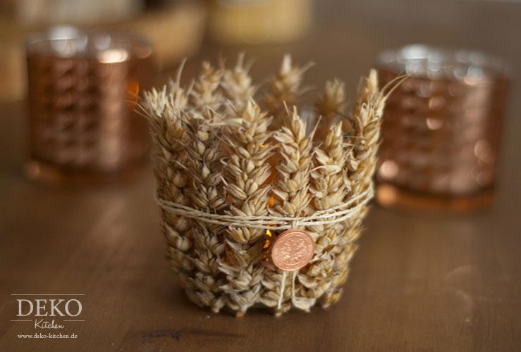 Diy h bsche herbstdeko mit getreide deko kitchen for Deko kitchen herbstdeko