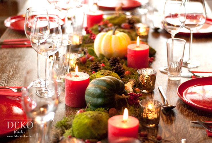 Dekoidee: Hübsche Tischdeko mit Herbstlandschaft