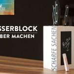 DIY: cooler Messerblock im individuellen Style