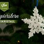 DIY: Sterne basteln mit wunderschöner Eiskristall-Optik