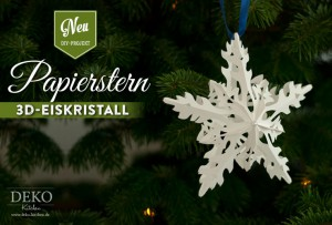 Diy Sterne Basteln Mit Wunderschöner Eiskristall Optik Deko Kitchen