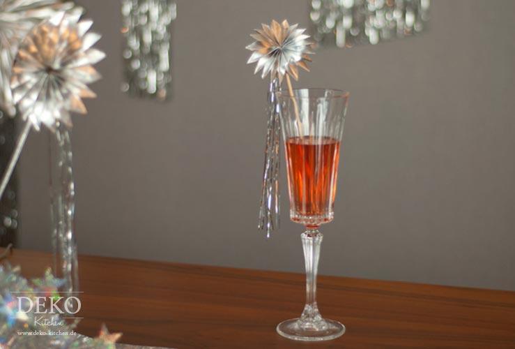 DIY: leuchtendes Centerpiece für Silvester-Tischdeko Deko-Kitchen