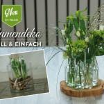 DIY: ausgefallene Blumendeko für den Frühling schnell & einfach