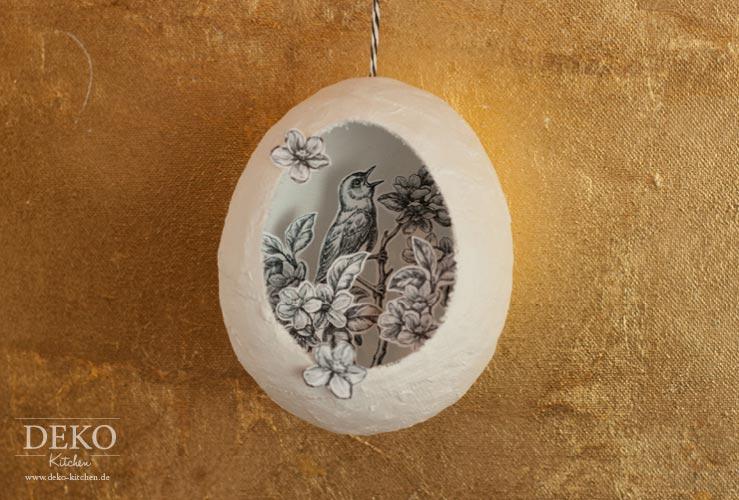DIY: Deko-Ostereier aus Gips Deko-Kitchen